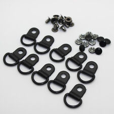 Metal Rivet D Ring Lace Eye Boot Shoes Repair D-ring Buckle 5 Colors available