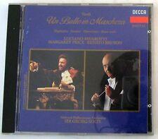 UN BALLO IN MASCHERA - PAVAROTTI / PRICE / BRUSON - SOLTI - CD Nuovo Unplayed