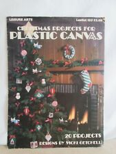 Christmas Projects For Plastic Canvas Booklet- Leisure Arts