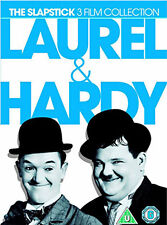 LAUREL AND HARDY SLAPSTICK COLLECTION - DVD - REGION 2 UK