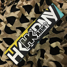 New Hk Army Paintball Headband Padded Tying Head Sweat Band - Hk Apex Yellow