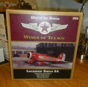 Wings of Texaco LOCKHEED SIRIUS 8A Diecast Airplane