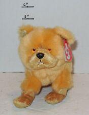 "Ty Zodiac Chow Dog 6"" Beanie Baby Plush Stuffed Animals Rare HTF"