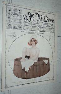LA VIE PARISIENNE 19-07 1913 KIRCHNER HEROUARD FABIANO BRUNELLESCHI