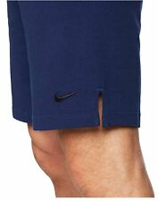 "Nike Men 9"" Dri-FIT Cotton Jersey Training Shorts Binary Blue XXL NEW with tag"