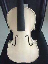 No.L11 New nice 4/4 size violin in white Stradi model 1715 , unvarnished violin