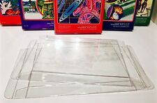 5 Box Protectors For INTELLIVISION Video Game Boxes   Clear Display Cases
