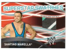 2011 TOPPS WWE SANTINO MARELLA SUPERSTAR SWATCHES 3-COLOR SHIRT RELIC