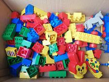 Lego Duplo Konvolut-Steine-Tiere-Figuren-Fahrzeuge