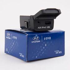 Sonata 2011-12-13-14 Auxiliary Jack USB IPOD AUX Jack Assembley OEM Hyundai
