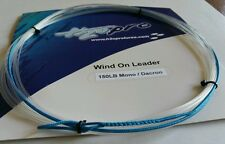 1X 150lbs wind-on leader 23 feet long. hand made by H2Opro
