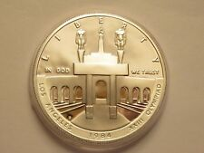 1984 US Mint Olympic Proof Silver Dollar, COIN ONLY