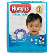 Huggies Little Movers Diaper Pants for boys size 5 (PACK of 2)  38 count total