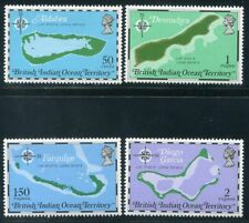 BRITISH INDIAN OCEAN  82- 85  Beautiful  Mint  NEVER  Hinged  Set  AG