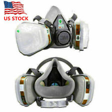 US 7 IN 1 Half Face Mask for 6200/ 7502 Gas Painting Spray Protection Respirator