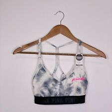 PINK By Victoria's Secret White/Black Sport Bra Removable Padding | NWT