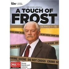 A Touch of Frost Complete Seasons Series 1-15 DVD Box Set R4 New & Sealed