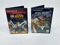 Lego Star Wars 1 and Starfighter Bundle Lot Of (2) PlayStation 2 PS2
