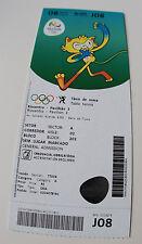 old ticket Olympic 2016 Rio Table tennis 8.08 J08 Women's men's singles round 4