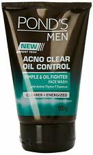 Pond's Men Acno Clear Oil Control Facewash 100 gm+ Free Shipping