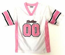 Carolina Panthers Jersey Youth Girls NFL Pink White Team Apparel Kids Size  M 7-8 109f68208