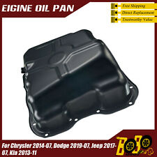 Oil Pan Fit for Chrysler 2014-07 Dodge 2019-07 Jeep 2017-07 Kia 2013-11 4884665A