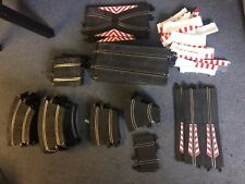 Ninco slot car track 1/32 large lot with scalextric adapters