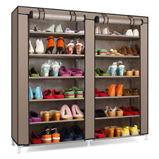 TRI- FOLDING SHOE RACK 12 LAYERS- DOUBLE