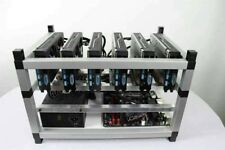 Crypto Coin Mining Rig 6x GTX1060 Ethereum ETH Zcash Raven Altcoins NVIDIA 800W