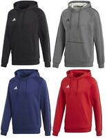 Men's New Adidas Core Logo Hoodie Hoody Hooded Sweatshirt Jumper Top jacket