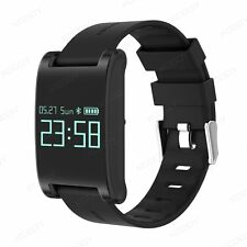 Bluetooth Smart Watch Bracelet Blood Pressure Heart Rate Phone Mate For Samsung