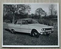 ROVER 2000 SALOON (P6) Car Black & White Press Photograph c1971