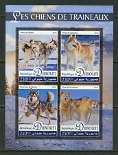 DJIBOUTI 2019 SLED DOGS SHEET MINT NEVER HINGED