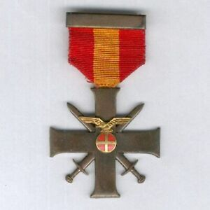 NORWAY. Bravery and Loyalty Cross , political issue, 1944