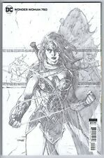 WONDER WOMAN #750 SKETCH VARIANT 1:100 JIM LEE DC COMICS 2020 NM-