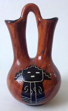 Maw Paw Wedding Vase Arizona Native Tribal Art Pottery Southwestern Signed