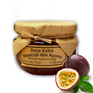 Passion Fruit or Pineapple Jam 100% Organic Handcraft Fresh Fruit from Azores 99
