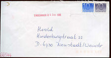 Netherlands 1992 Cover To Germany #C14463