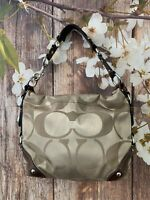 Coach Signature Carly Hobo Coach 13305 Purse