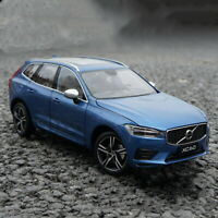 1/18 Scale VOLVO XC60 Sport 2018 Blue Diecast Car Model Toy Collection Gift