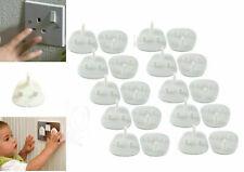 10PCS Child Safety UK Standard Plug Socket Covers Baby Protector UK