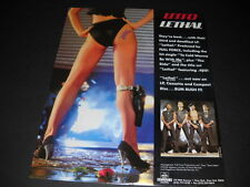 UTFO are LETHAL with booty and a gun BUM RUSH IT Promo Poster Ad MINT CONDITION