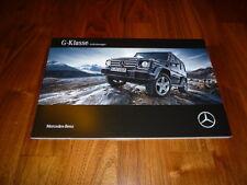 Mercedes Benz G Klasse Prospekt 05/2015