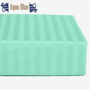Bed Skirt Box Pleat All Stripe Color's California King Size Select Drop Length