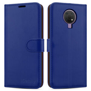 For Nokia G10 Case Leather Wallet Book Flip Folio Stand View Card Slots Cover