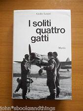 I SOLITI QUATTRO GATTI AVIATORI ITALIANI SECONDA GUERRA PILOTI AERONAUTICA CACCI