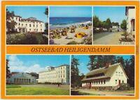 Heiligendamm Bad Doberan Maxim-Gorki-Haus, Strand, Ortsansicht,  1984