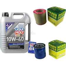 Inspection Kit Filter LIQUI MOLY Oil 5L 10W-40 for Citroën C25 Bus 280_ 290_