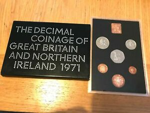 Royal Mint 1971 Great Britain & Northern Ireland Proof Coin Set