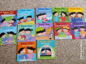 Topsy and tim books bundle